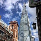 Ο πύργος Λονδίνο shard Στοκ Φωτογραφία