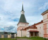 Ο πύργος μοναστηριών Στοκ Εικόνες