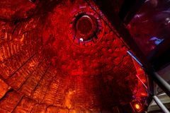 Ο πύργος μπουλονιών - φούρνος φυσήματος αριθ. 1 στοκ εικόνα με δικαίωμα ελεύθερης χρήσης