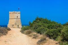Ο πύργος που αγνοεί τη θάλασσα στοκ φωτογραφίες με δικαίωμα ελεύθερης χρήσης
