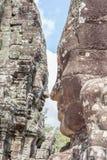Ο πύργος προσώπου πετρών Bayon σε Angkor Wat, Siem συγκεντρώνει, Καμπότζη Στοκ φωτογραφία με δικαίωμα ελεύθερης χρήσης