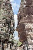 Ο πύργος προσώπου πετρών Bayon σε Angkor Wat, Siem συγκεντρώνει, Καμπότζη Στοκ εικόνες με δικαίωμα ελεύθερης χρήσης