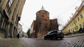 Ο πύργος σκονών απόθεμα βίντεο