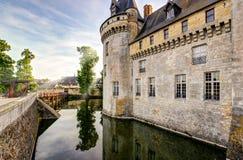 Ο πύργος της κηλίδα-sur-Loire, Γαλλία στοκ εικόνες