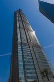 Πύργος της Jin Mao στη Σαγκάη στοκ φωτογραφίες