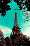Ο πύργος του Άιφελ Στοκ εικόνες με δικαίωμα ελεύθερης χρήσης