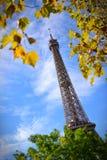 Ο πύργος του Άιφελ, ένα σφαιρικό πολιτιστικό εικονίδιο της Γαλλίας Στοκ Εικόνα