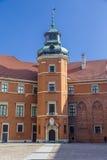 Ο πύργος του βασιλικού παλατιού Στοκ εικόνες με δικαίωμα ελεύθερης χρήσης