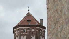 Ο πύργος του παλαιού Castle απόθεμα βίντεο