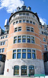 Πύργος Frontenac, πόλη του Κεμπέκ, Καναδάς Στοκ Εικόνες