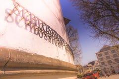 Ο πύργος του Castle στο Ντίσελντορφ, Γερμανία Στοκ εικόνες με δικαίωμα ελεύθερης χρήσης