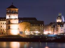 Ο πύργος του Castle στο Ντίσελντορφ, Γερμανία Στοκ Εικόνες