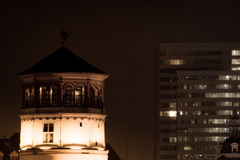 Ο πύργος του Castle στο Ντίσελντορφ, Γερμανία Στοκ Εικόνα