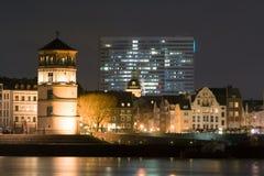 Ο πύργος του Castle στο Ντίσελντορφ, Γερμανία Στοκ Φωτογραφίες