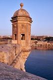 Ο πύργος φρουράς το Gardjola του προμαχώνα Singlea ea Στοκ Εικόνες