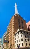 Ο πύργος AWA είναι ένα γραφείο και επικοινωνίες σύνθετα στο Σίδνεϊ Χτισμένος το 1939 Στοκ εικόνες με δικαίωμα ελεύθερης χρήσης