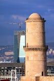 Ο πύργος Fanal στη Μασσαλία Στοκ Εικόνα