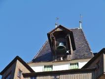 Ο πύργος glockenturm ή κουδουνιών στο Γκραζ στην Αυστρία Στοκ Φωτογραφία