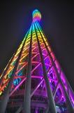 Ο πύργος Guangzhou στην Κίνα Στοκ Εικόνες