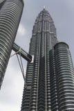 Ο πύργος Petronas στη Κουάλα Λουμπούρ Στοκ Εικόνες