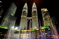 Ο πύργος Petronas Στοκ εικόνα με δικαίωμα ελεύθερης χρήσης