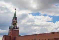 Ο πύργος Spasskaya της Μόσχας Κρεμλίνο Στοκ εικόνα με δικαίωμα ελεύθερης χρήσης