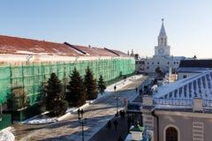 Ο πύργος Spasskaya Savior ` s, Kazan Στοκ φωτογραφία με δικαίωμα ελεύθερης χρήσης