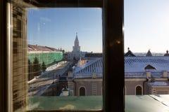 Ο πύργος Spasskaya Savior ` s, Kazan Στοκ Εικόνες