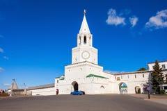 Ο πύργος Spasskaya Saviors Στοκ Εικόνες