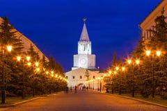 Ο πύργος Spasskaya Saviors Στοκ Εικόνα