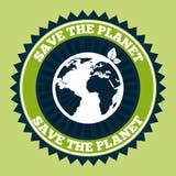 ο πλανήτης σώζει απεικόνιση αποθεμάτων