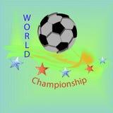 Ο πλανήτης του ποδοσφαίρου Στοκ εικόνες με δικαίωμα ελεύθερης χρήσης