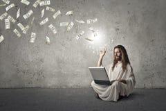 Ο πλούσιος Ιησούς στοκ εικόνα