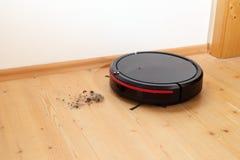 Ο ρομποτικός καθαριστής καθαρίζει στοκ φωτογραφία με δικαίωμα ελεύθερης χρήσης