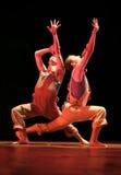 Ο ρυθμός του ζωή-αμερικανικού σύγχρονου χορού Στοκ Εικόνες