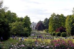 Ο ρυθμός della του Μιλάνου arco από το πάρκο sempione Στοκ Εικόνα