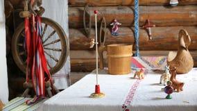 Ο δρυοκολάπτης παιχνιδιών είναι στη ρωσική παράδοση Στοκ φωτογραφία με δικαίωμα ελεύθερης χρήσης