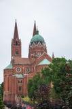 Ο Ρωμαίος - καθολικός καθεδρικός ναός του ST Peter και του ST Paul σε Djakov Στοκ Φωτογραφίες