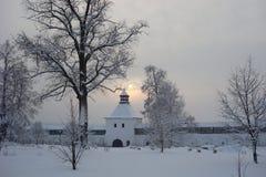 Ο ρωσικός χειμώνας Στοκ Εικόνες