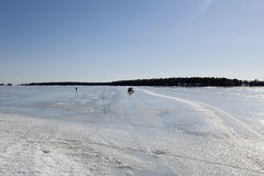 Ο δρόμος πάγου Στοκ Εικόνες