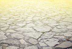 Ο δρόμος που σχεδιάζεται από ένα σχέδιο πετρών, αποτελέσματα, τονισμός Στοκ Εικόνα