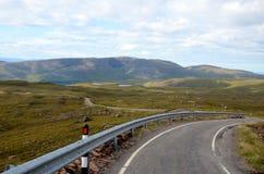 Ο δρόμος σε Applecross Στοκ Εικόνες
