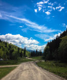 Ο δρόμος σε Zion Στοκ Φωτογραφία