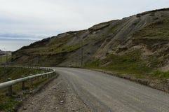 Ο δρόμος στη Γη του Πυρός Στοκ Φωτογραφία