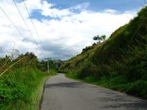 Ο δρόμος στο βουνό στοκ φωτογραφία