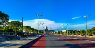 Ο δρόμος στο γραφείο πρωθυπουργών της Μαλαισίας ή το putra Perdana Στοκ Εικόνες