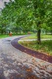 Ο δρόμος στο πάρκο Στοκ Εικόνες