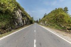 Ο δρόμος στο sapa στοκ εικόνες