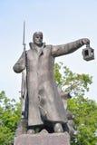 Ο δρόμος του μνημείου θάρρους στο μικρό τρόπο της ζωής σε Lisy αριθ. Στοκ φωτογραφία με δικαίωμα ελεύθερης χρήσης