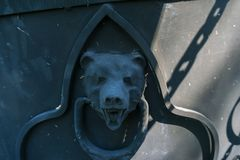 Ο σίδηρος αντέχει το κεφάλι Στοκ εικόνες με δικαίωμα ελεύθερης χρήσης